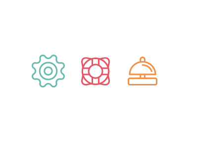 More Icon Work icons icon support help service services core configure features customize settings setting options manage manager illustration customization