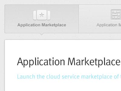 Top Navigation interface ui navigation icon illustration app apps app store marketplace marketplaces