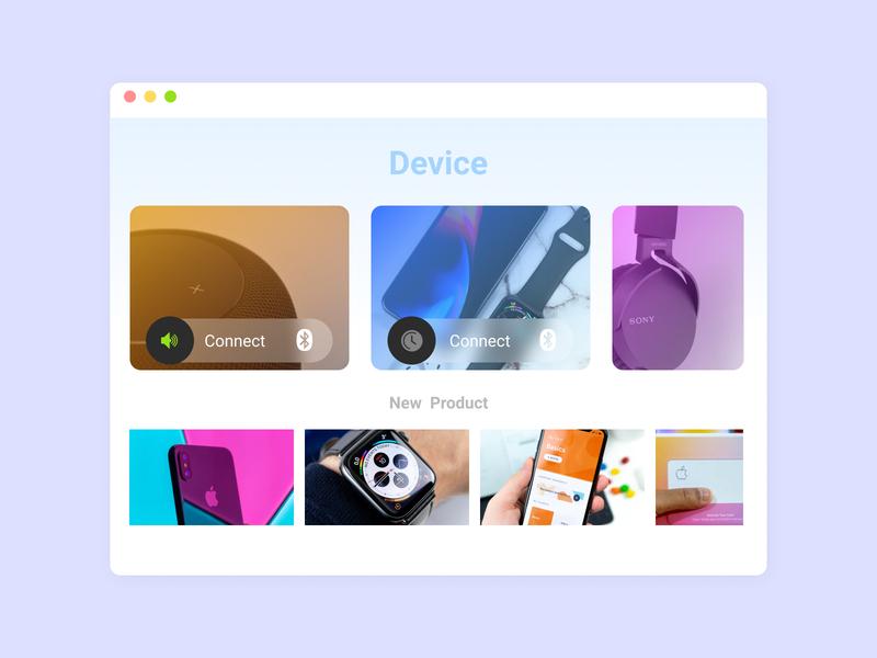 DailyUI 021 Home Monitoring Dashboard