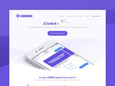 URBEM Landing Page