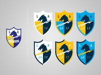 Los Angeles Chargers Shield