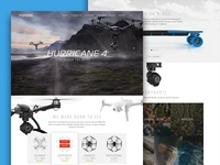 Drone Website Pitch