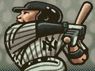 Aaron Judge Portrait athletes new york yankees baseball athlete sports aaron judge portrait drawing zucca mario illustration