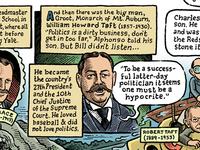 Howard Taft Comic