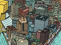 Pittsburgh Map Detail: Downtown