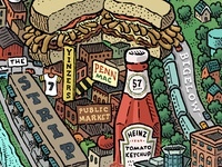 Pittsburgh Map Detail: The Strip