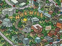 Portland Map: Nob Hill