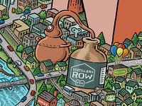 Portland Map: Distillery Row