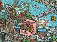 Portland Map: Downtown