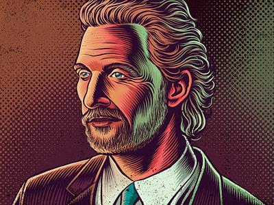 Matthew Mcconaughey Portrait