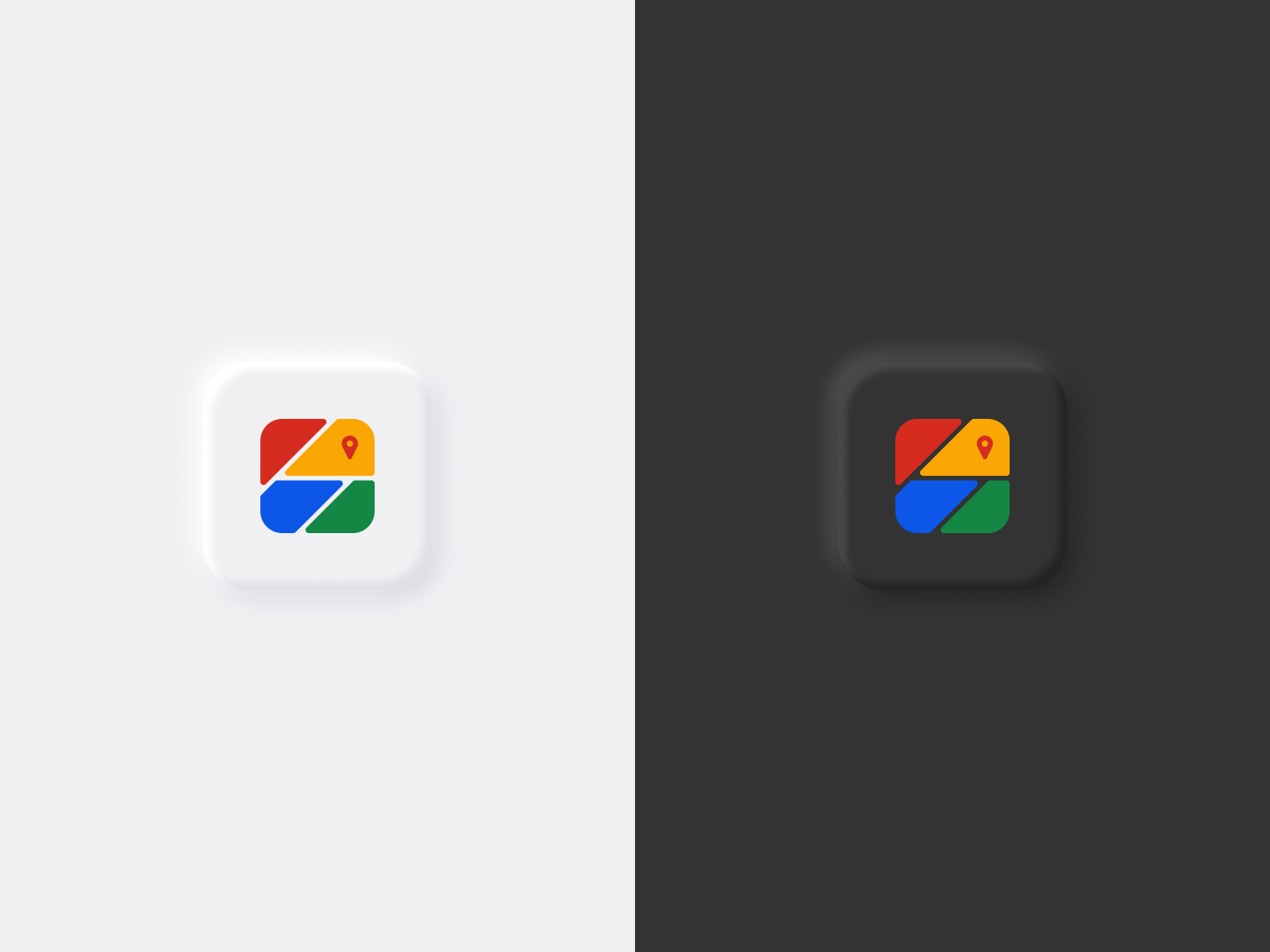 Google Maps App Icon Redesign By Afif Bazit On Dribbble