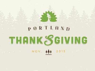 Portland Thanksgiving