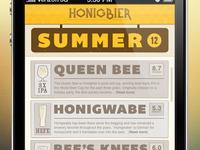 Honigbier App