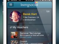LivingSocial Profile Page Concept