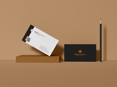 Professional business card design folio logo double sided illustration card business unique print modern ui minimal business card corporate design custome professional creative branding brand identity business card design
