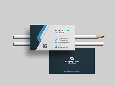 Modern Minimal Business Card Design banner ads advertising graphic design ui print design print luxury creative design logo modern unique corporate business card professional custome minimal branding brand identity business card design