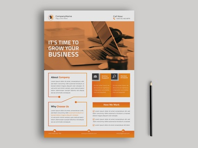 Corporate business flyer design clean magazine postcard print design template booklet catalog poster leaflet branding graphic design brochure minimal modern creative design corporate business flyer design flyer