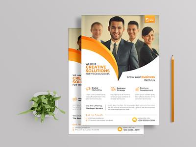 Corporate flyer design post social media banner magazine catalog business corporate professional modern creative custom print design branding template leaflet poster flyer design brochure flyer