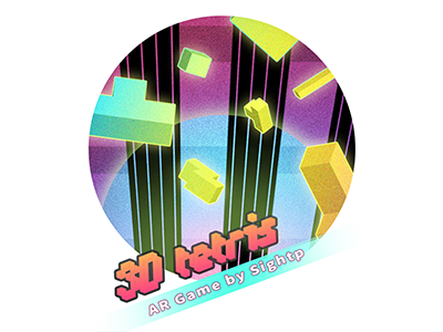 AR Game-3D Tetris