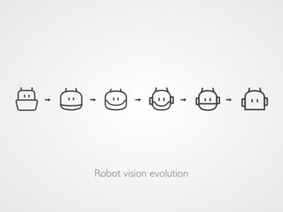 Robot vision evolution