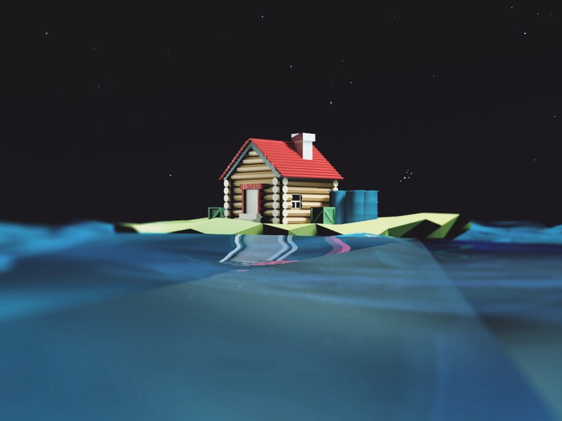 house  on the ocean ocean house c4d