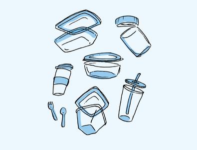 Bring Your Own unicef digital illustration visual design campaign branding illustration design