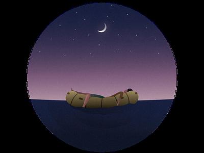 Goodnight illustrator illustration