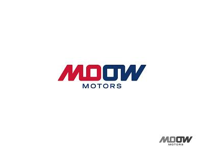 MOOW lettermark luxury hidden meaning wordmark identity minimal design brand logo branding