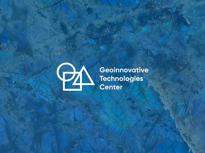 Logo for Geoinnovative Technologies Center abstract identity minimal design brand logo branding