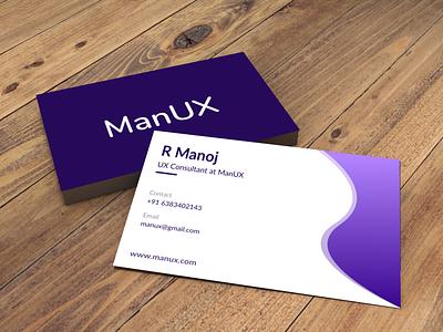 Simple Visting Card Design ui buisness card flat typography design icon carddesign branding