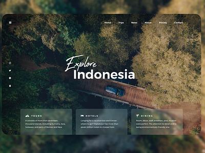 New Stylish Travel Landing Page explore traveling travel figma web design adobexd ux design ui
