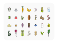 Everyday Food Icons