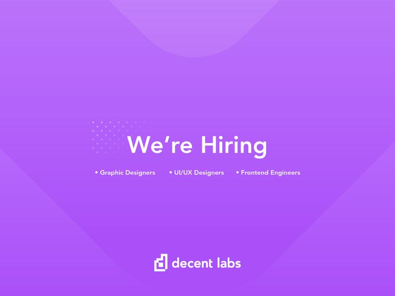 We're Hiring tech designer job hiring agency