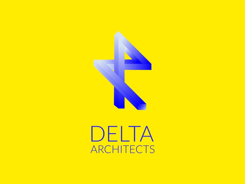 Daily Logo Challenge day 17 Delta Architects logos dailylogo dailylogodesign logotype vector branding design logo logodesign dailylogochallenge