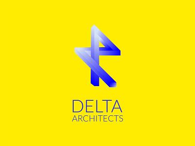 Delta Architects DLC 17 geometic architect architecture ios ui ux logo design blue happinessdesigns corto bert logos dailylogo dailylogodesign logotype vector branding design logo logodesign dailylogochallenge
