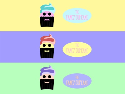Fancy Cupcake DLC 18 ux ui logo design happinessdesigns corto bert logos dailylogodesign dailylogo logotype vector design branding logo logodesign dailylogochallenge