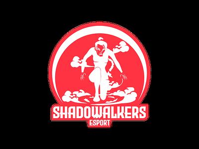 Shadowalkers Esport DLC 32 sports logo esports logo esport esport team logotype dailylogodesign logodesign design vector logo happinessdesigns dailylogochallenge corto bert branding