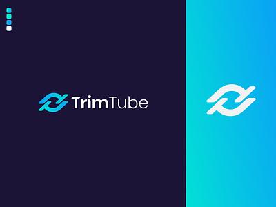 T - Letter Logo design symbol typography t t letter logo company logo gradient modern logo letter mark logo gradient logo unique logo branding flat logo