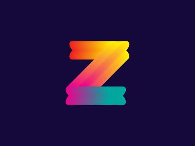 Z letter Modern Logo Design illustration logo unique logo design gradient logo gradient minimal modern logo branding abirhossainsajul sajul2590 flat logo