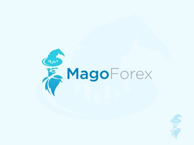 MagoForex Logo design head blue color new logo logo design branding minimal icon symbol flat logo sajul2590 abirhossainsajul modern logo logo