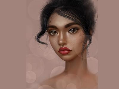 Girl digitalart digital illustration illustration digital painting digital art drawing portrait girl