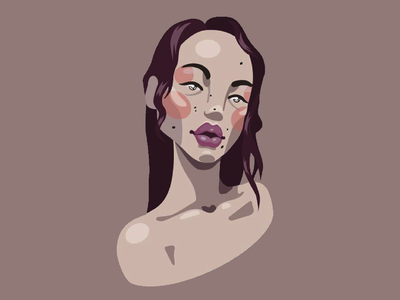 Tsunaina adobe illustrator illustrator vector illustration portrait digital art digital illustration digitalart illustration vector vectorart
