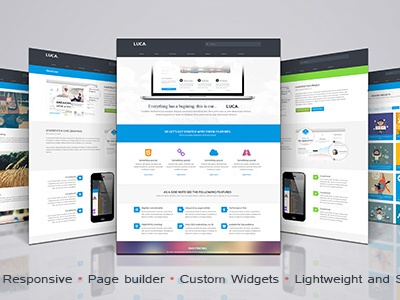 Luca Wordpress Theme