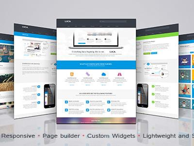 Luca Wordpress Theme wordpress theme
