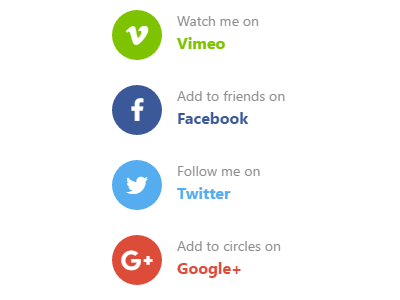 Widget: Getting social