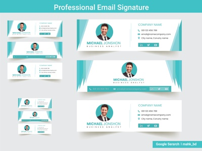 Professional Email Signature Design email receipt stationery personal email signature e-mail signature custom email signature business email ecommerce branding design branding and identity branding graphic illustration design company advertisement email marketing email template email design email signature email