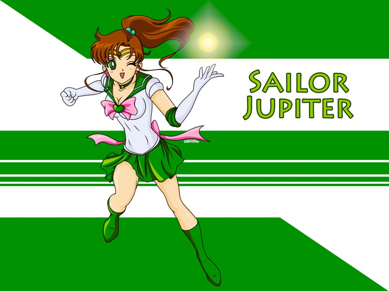 Sailor Jupiter digital art sailorjupiter sailormoon fanart digitalart photoshop illustration