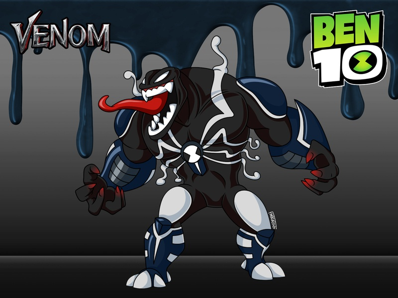 Ben10 : Venom : concept art concept art venom ben10reboot ben10 design fanart digitalart photoshop illustration