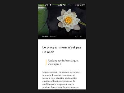 Redesign redesign iphone mobile ui