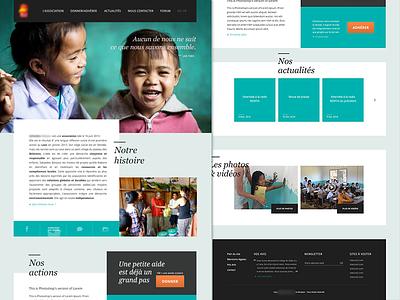 Association association redesign ui blue